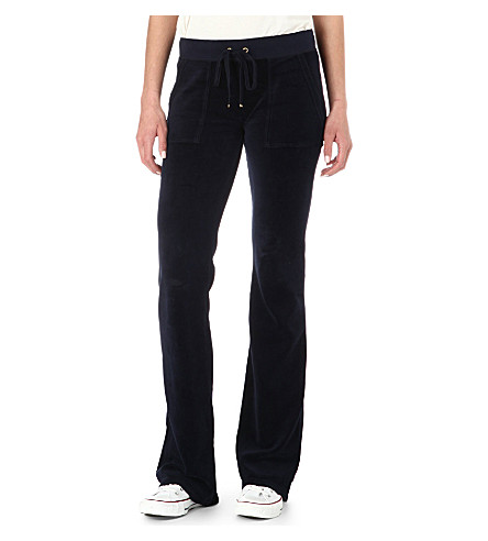 JUICY COUTURE Velour jogging bottoms (Regal