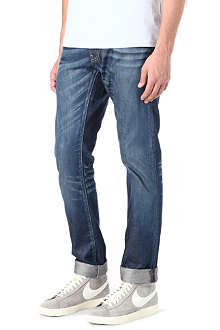 G STAR 3301 slim-fit straight denim jeans