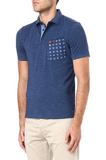 G STAR Straight collar polo shirt