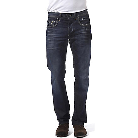 G STAR Attacc regular-fit straight jeans (Travis+wash