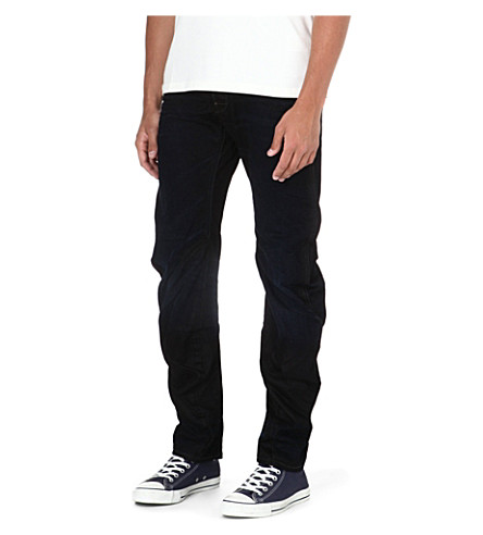 G STAR Riley 3D Lexicon loose-fit tapered jeans (Indigo