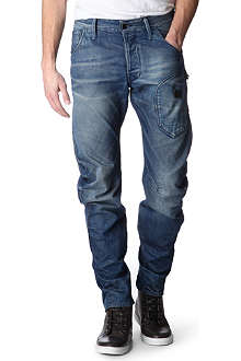 G STAR Biker Arc 3D loose-fit tapered jeans
