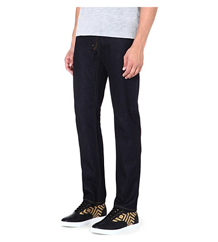 G STAR 3301 regular-fit tapered jeans (Raw