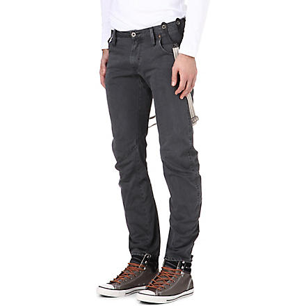 G STAR Arc 3D slim-fit jeans with braces (Night