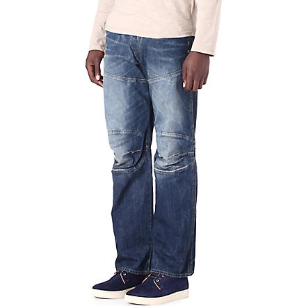 G STAR 5620 loose-fit straight jeans (Rugby+wash