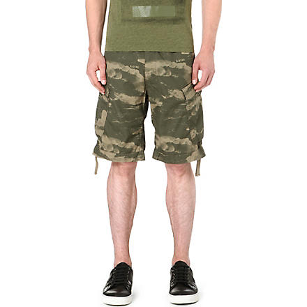 G STAR Wave Camo shorts (Combat