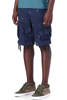 G STAR Indigo Rovic loose-fit shorts