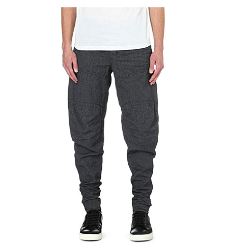 G STAR Kensetsu loose trousers (Black