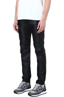 G STAR Raw Essentials leather 5620 loose-fit tapered jeans