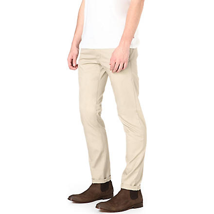 G STAR Bronson regular-fit tapered chinos (Khaki