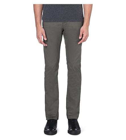 G STAR Bronson stretch-cotton chinos (Grey