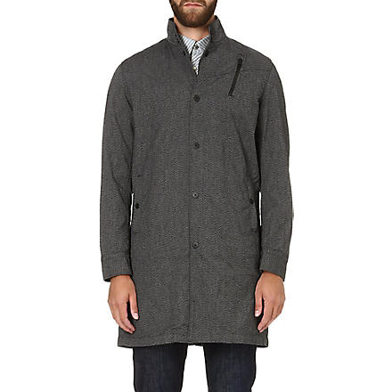 G STAR Kensetsu trench coat (Black