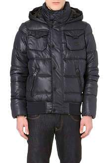 G STAR Whistler hooded quilted jacket