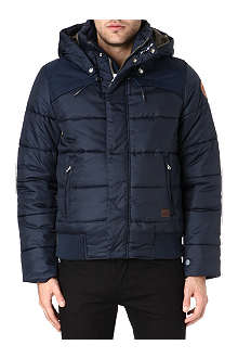 G STAR Whistler hooded bomber jacket
