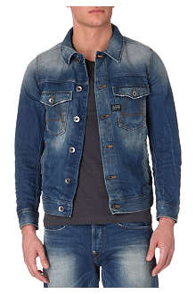 G STAR A-Crotch slim denim jacket