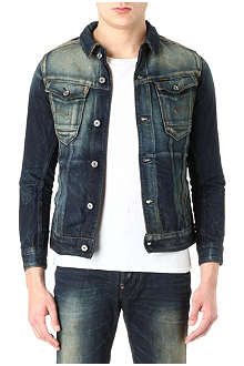 G STAR Slim-fit faded denim jacket