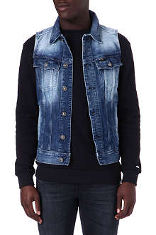 G STAR Slim tailor denim gilet