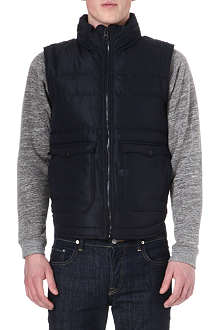 G STAR Hunter quilted gilet