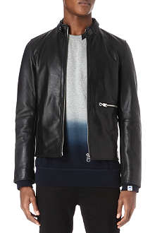 G STAR Midnight leather jacket