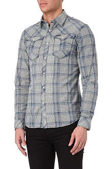 G STAR Arc 3D checked shirt