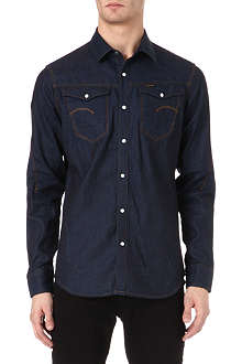G STAR Arc 3D denim long-sleeved shirt
