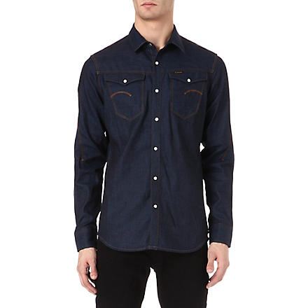 G STAR Arc 3D denim long-sleeved shirt (Raw