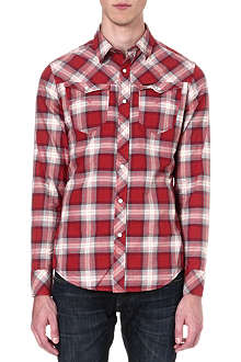 G STAR Olsen check shirt