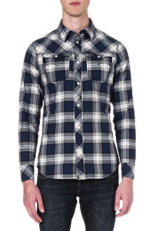 G STAR Olsen checked shirt