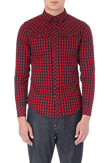 G STAR Tailor checked shirt
