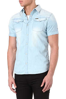 G STAR Denim short-sleeved shirt