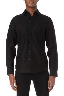 G STAR A-crotch pound twill work shirt