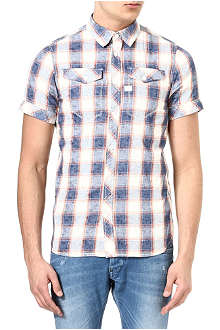 G STAR Tacoma checked shirt