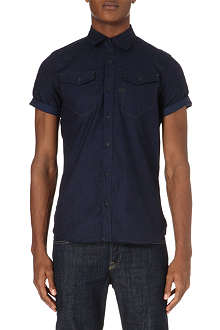 G STAR Tacoma short-sleeved denim shirt