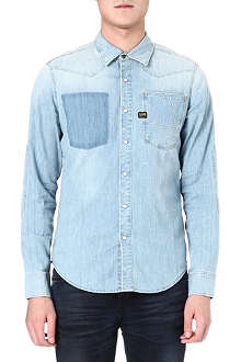 G STAR Vintage comfort-fit denim shirt