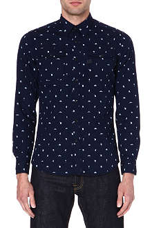 G STAR Landoh printed denim shirt