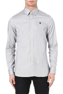 G STAR Checked slim-fit shirt