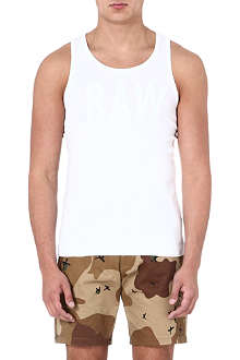 G STAR Raw logo-print vest