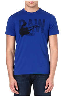 G STAR Raw logo-print t-shirt