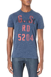 G STAR Graphic logo t-shirt