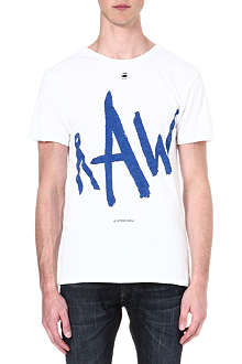 G STAR Written Raw logo t-shirt