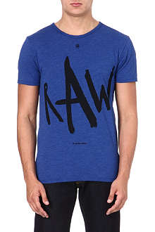 G STAR Raw logo-printed t-shirt