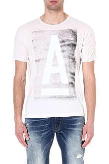 G STAR Vintage logo t-shirt