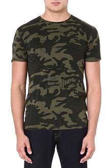 G STAR Camouflage-print t-shirt