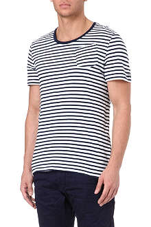 G STAR Breton-striped t-shirt