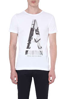 G STAR A-print t-shirt