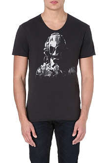 G STAR Gas mask t-shirt
