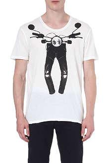 G STAR Motorbike-print t-shirt