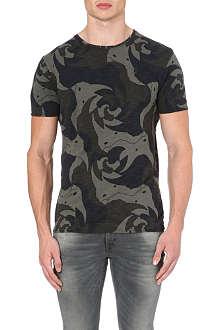 G STAR Rhino camouflage-print t-shirt