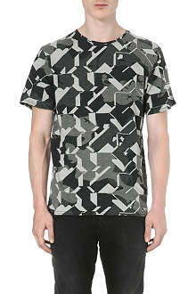 G STAR All-over graphic-print t-shirt