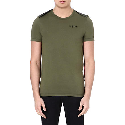 G STAR Desert Tape RT t-shirt (Sage